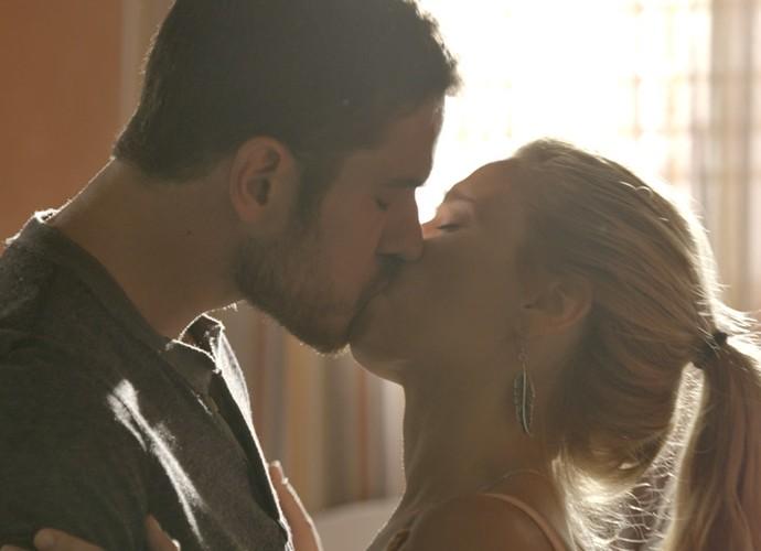 Será que Dante e Lara conseguirão ser felizes? (Foto: TV Globo)