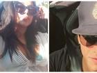 Tá rolando? Anitta curte dia de praia com cantor colombiano em Miami