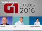G1 transmite ao vivo debate entre candidatos à Prefeitura de Cabo Frio
