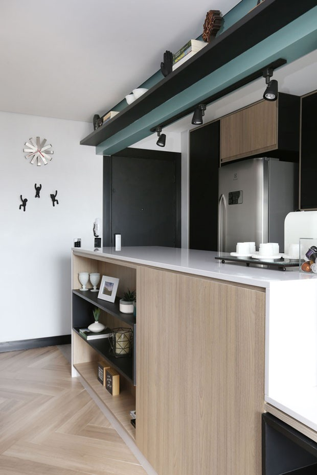 Apartamento descolado de 57 m² (Foto: Mariana Orsi / divulgação)