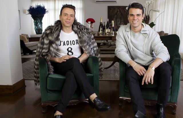 Matheus Mazzafera e Beto Pacheco (Foto: reprodução)