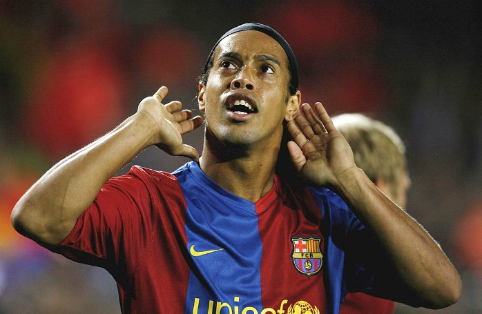Ronaldinho Barcelona Werder Bremen