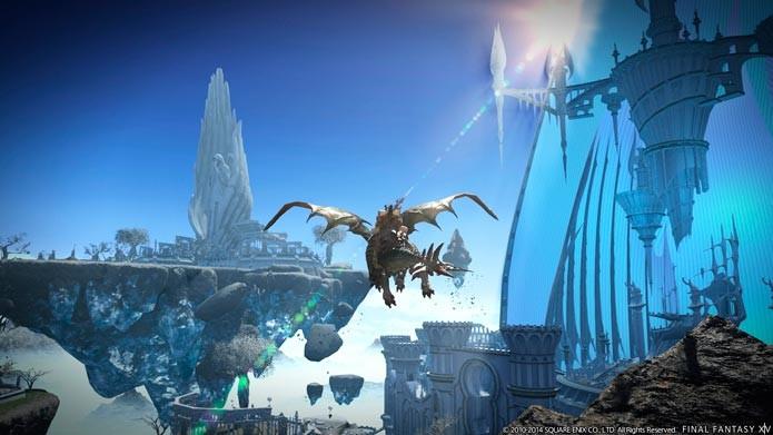 Heavensward é uma quase um novo jogo (Foto: Divulgação/Steam)