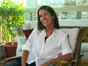 'O amor está sempre em alta', diz a escritora Martha Medeiros  (Foto: TV Globo)