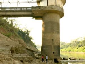 Depasa não descarta o desligamento de uma das bombas de captação da torre em Rio Branco (Foto: Reprodução/Rede Amazônica Acre)