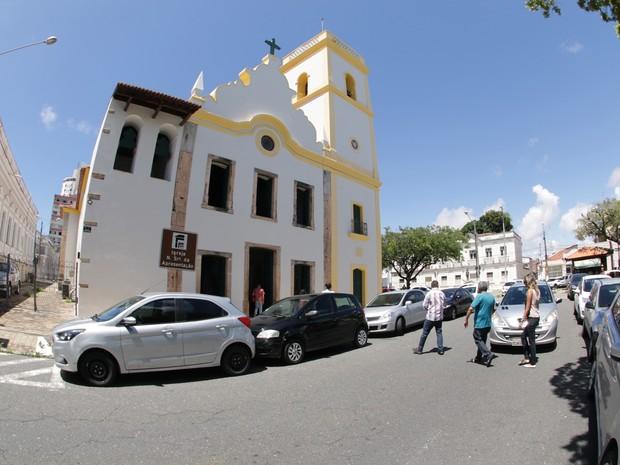 Igreja Nossa Senhora da Apresentação (Catedral Antiga) é uma das atrações dos roteiros criados pela Secretaria de Turismo de Natal (Foto: Alex Regis/PMN/Secom)