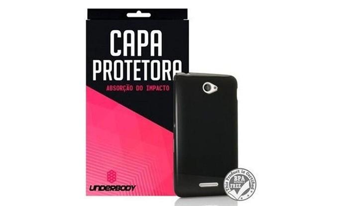 Capa com absorção de impacto é uma opção discreta para proteger o celular (Foto: Divulgação/Underbody)