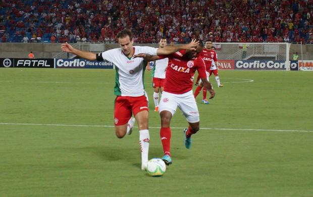 América-RN x Boa Esporte (Foto: Augusto Gomes/GloboEsporte.com)