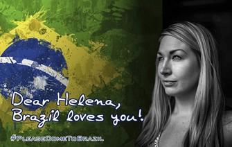 Twitteiros declararam amor a Helena e pediram que ela venha ao Brasil (Foto: Reprodução/Twitter) (Foto: Twitteiros declararam amor a Helena e pediram que ela venha ao Brasil (Foto: Reprodução/Twitter))