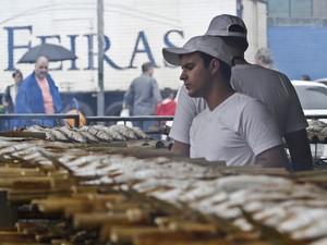 Feira do Peixe em Porto Alegre vendeu nove toneladas a mais do que em 2015 (Foto:  Joel Vargas/PMPA)