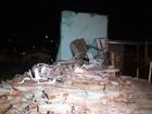 Igreja desaba após ventania e mata pastor em Senador Canedo, GO