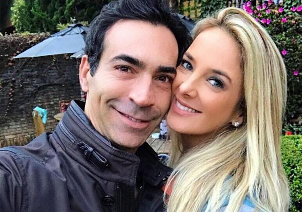 César Tralli e Ticiane Pinheiro in love (Foto: Reprodução/Instagram)