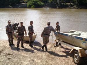 345 militares participam da operação em MS. (Foto: Divulgação/PMA)
