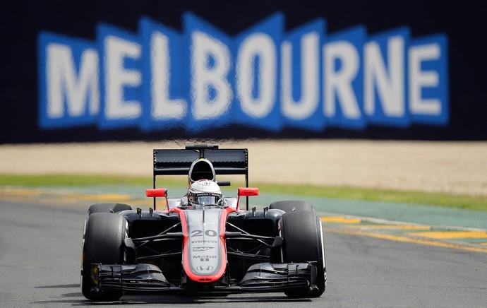 Kevin Magnussen, McLaren, GP da Austrália (Foto: AP)