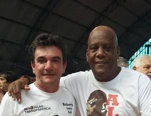 Andrés Sanchez e André Luiz OIiveira