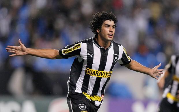 Bruno Mendes gol Botafogo (Foto: Wagner Meier / Agif)