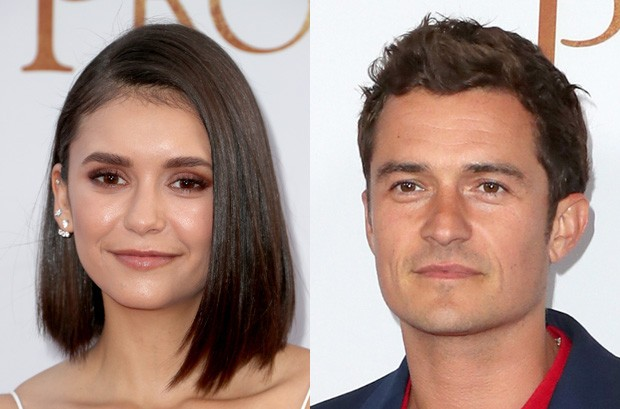 Nina Dobrev e Orlando Bloom (Foto: Getty Images)