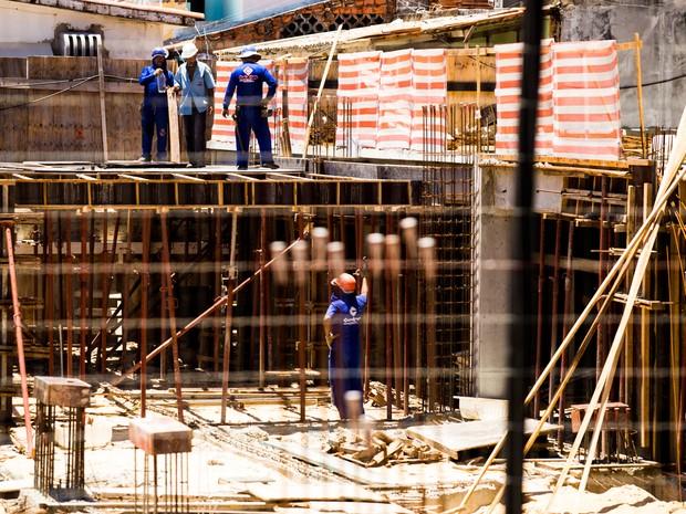 MInistério Público do Trabalho em Alagoas diz que número de acidentes na construção aumentou (Foto: Jonathan Lins/G1)