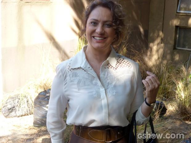 Eliane Giardini será Vilma e irá trabalhar junto com Lineu (Foto: A Grande Família/TV Globo)