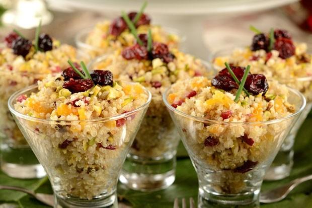 Salada de quinoa: aprenda receita saudável (Foto: Divulgação)