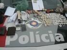 Cinco são presos suspeitos de tráfico de drogas em Bauru