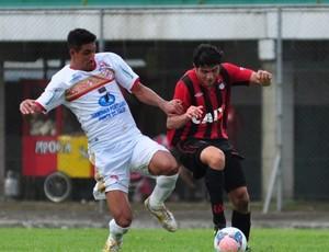 Atlético-PR vence o Rio Branco-PR no Gigante do Itiberê (Foto: Site oficial do Atlético-PR/Divulgação)