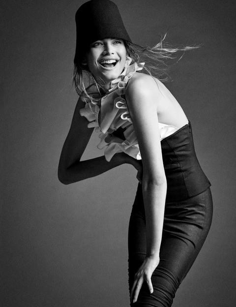 Antes de ser modelo, Valentina fez faculdade de moda no Ceará (Foto: Reprodução)
