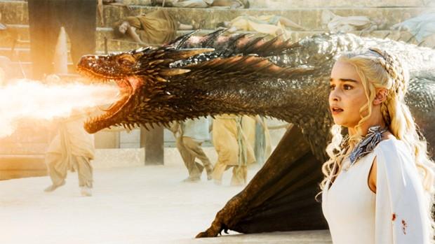 Cena da quinta temporada de 'Game of thrones' (Foto: Divulgação)