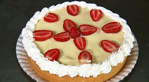 Torta de ricota com limão do Plug (Foto: Divulgação/RPC)