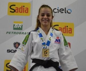 Nathália Mercadante, judoca de Araras (Foto: Marcos Mercadante / Associação Marcos Mercadante de Judô)