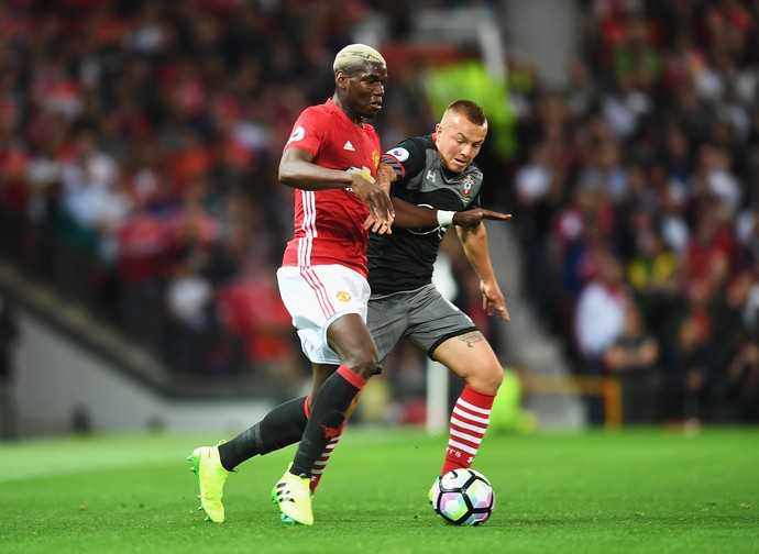 Pogba Manchester United Southampton (Foto: Getty Images)