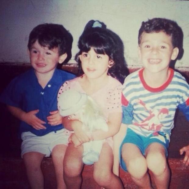 Daniele Hypolito com os irmãos Diego e Edson (Foto: Reprodução/ Instagram)