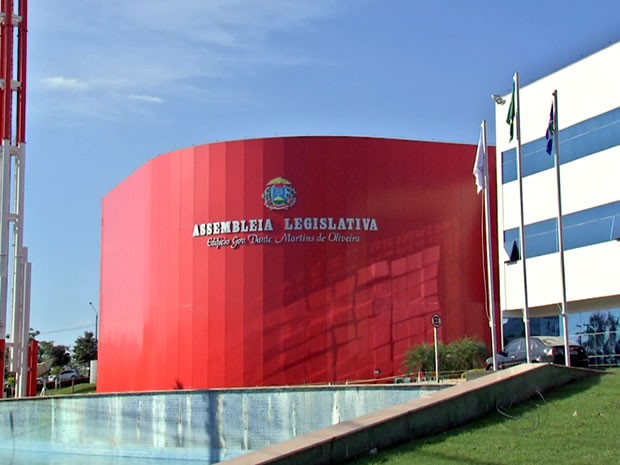Assembleia Legislativa de Mato Grosso (ALMT)  (Foto: Reprodução/TVCA)