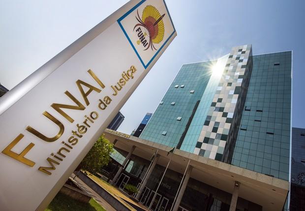 Sede da Fundação Nacional do Índio, em Brasília (Foto: Divulgação)