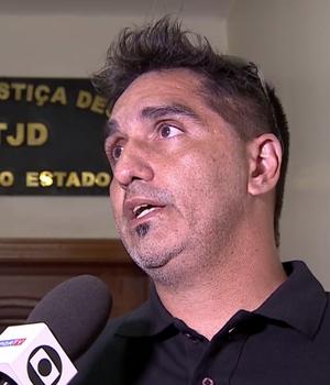 Marcos Cerdá, preparador de goleiros do São Cristóvão (Foto: Reprodução SporTV)