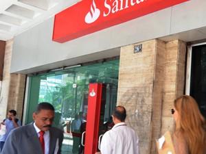 Banco Santander (Foto: AFP)