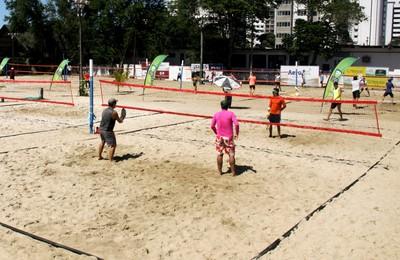 Beach Tennis Aeroclube Natal (Foto: Divulgação)