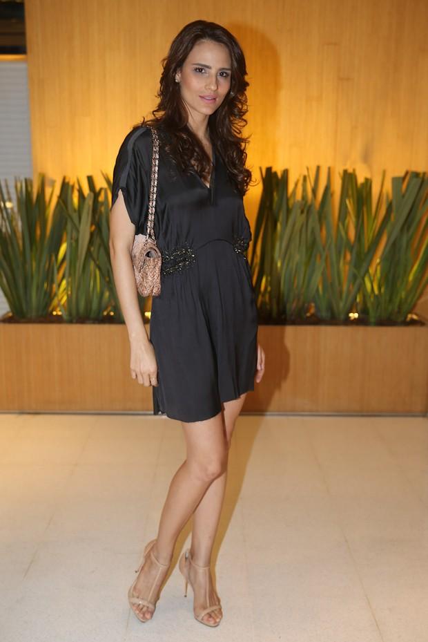 Fernanda Tavares em evento em São Paulo (Foto: Manuela Scarpa / Foto Rio News)