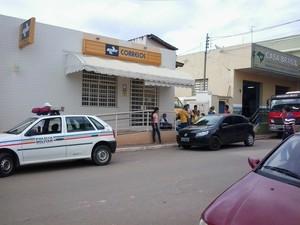 Polícia agiu rápido e localizou os suspeitos  (Foto: Fabrício Silva/Divulgação PM)