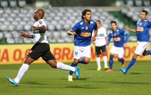 coritiba x cruzeiro couto pereira (Foto: Geraldo Bubniak / Light Press)