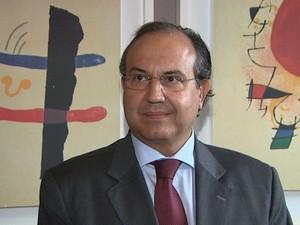 Secretário de Segurança Pública do Estado de São Paulo, Fernando Grella Vieira, em Ribeirão. (Foto: Paulo Souza/EPTV)