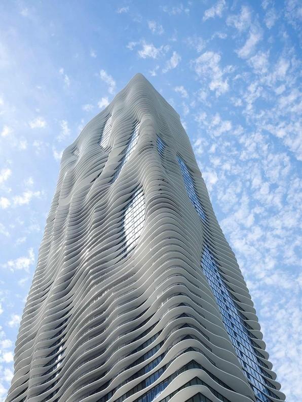 predios-modernos-com-fachadas-incriveis-aqua-tower-chicago (Foto: Reprodução)
