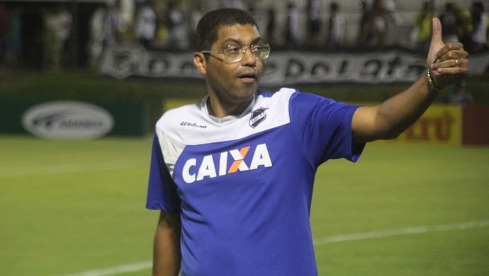 ABC x Campinense Copa do Nordeste - Narciso, técnico (Foto: Fabiano de Oliveira)