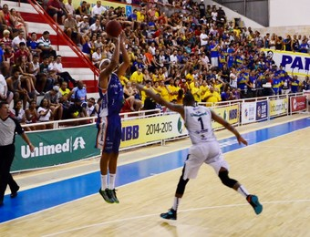 Jefferson Bauru São José Basquete (Foto: Danilo Sardinha/GloboEsporte.com)