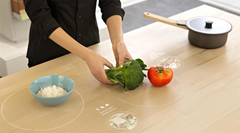 Projeto prevê como serão as cozinhas em 2025 (Foto: Divulgação)