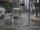 AMC registra pontos de alagamentos em três avenidas de Fortaleza