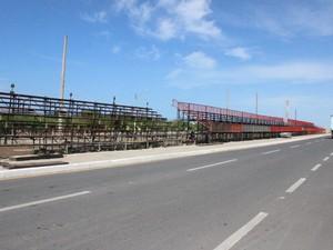 Expectativa é de que 15 mil foliões participem do carnaval em Parnaíba (Foto: Patrícia Andrade/G1)