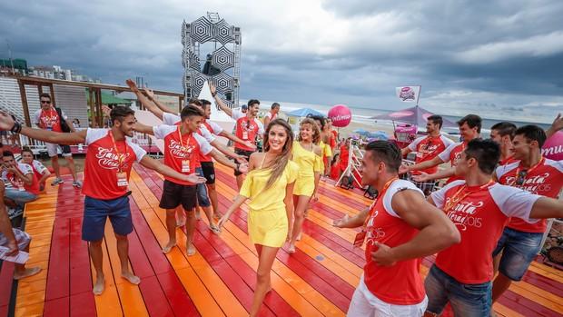 Misters estarão na final do Garota Verão 2015 (Foto: Emmanuel Denaui/Agência Preview)