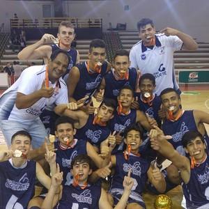 Basquete sub-16, Presidente Prudente, Prudente x Sesi, Franca, Campeão (Foto: Negativo / Cedida)