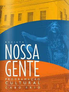Revista lançada em Cabo Frio sobre a programação cultural da cidade (Foto: Divulgação)